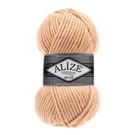 Пряжа Alize Superlana Maxi - 502 карамель, Цвет: 502 карамель