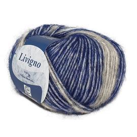 Пряжа Bertagna Filati Livigno - 204 джинсовый, Цвет: 204 джинсовый