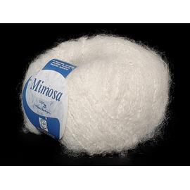 Пряжа Bertagna Filati Mimosa - 10 белый, Цвет: 10 белый