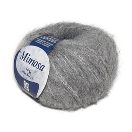 Пряжа Bertagna Filati Mimosa - 14 св.серый, Цвет: 14 св.серый