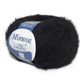 Пряжа Bertagna Filati Mimosa - 15 черный, Цвет: 15 черный