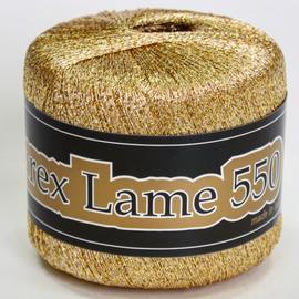 Пряжа Seam Lurex Lame 550 - 9018 золото, Цвет: 9018 золото
