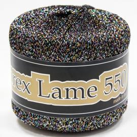 Пряжа Seam Lurex Lame 550 - 957 радужный темный, Цвет: 957 радужный темный