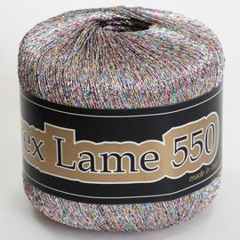 Пряжа Seam Lurex Lame 550 - 960 радужный светлый, Цвет: 960 радужный светлый