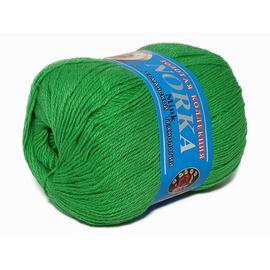 Пряжа Color-City Норка - 304 яр.зеленый, Цвет: 304 яр.зеленый