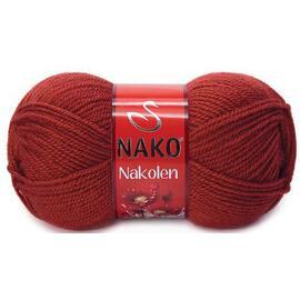 Пряжа Nako Nakolen - 4409 терракотовый, Цвет: 4409 терракотовый