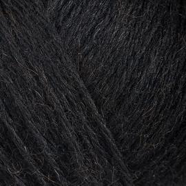 Пряжа Gazzal Peru Alpaca - 2302 черный, Цвет: 2302 черный