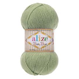 Пряжа Alize Baby Best - 138 оливковый, Цвет: 138 оливковый