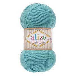 Пряжа Alize Baby Best - 164 лазурный, Цвет: 164 лазурный