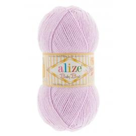 Пряжа Alize Baby Best - 27 лиловый, Цвет: 27 лиловый