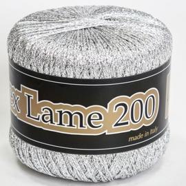 Пряжа Seam Lurex Lame 200 - 0900 серебро, Цвет: 0900 серебро