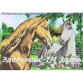 Вышивка бисером Эдельвейс - Творческая Мастерская Нежность, 40х50 см.