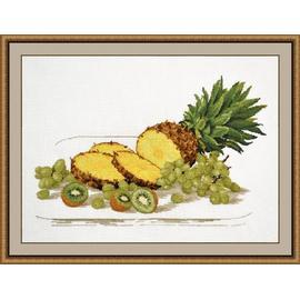 Вышивка крестиком Овен «Стильные вещи для дома» Вкус тропиков, 39х25 см.