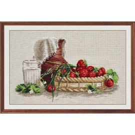 Вышивка крестиком Овен «Стильные вещи для дома» Деревенский соблазн, 36х24 см.