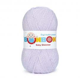 Пряжа Nako Bonbon Baby Shimmer - 98906 сирень, Цвет: 98906 сирень