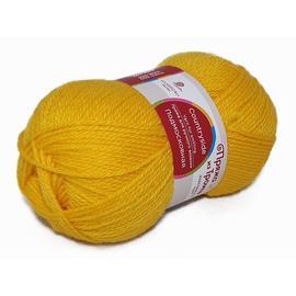 Пряжа Троицкая Подмосковная - 12 желток, Цвет: 12 желток