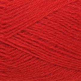 Пряжа Color-city Ангора кролик серебристый - 2225 красный, Цвет: 2225 красный