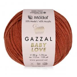 Пряжа Gazzal Baby Love-GZ - 1633 рыжик, Цвет: 1633