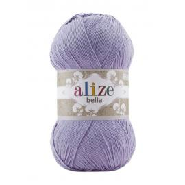 Пряжа Alize Bella 100 - лиловый 158, Цвет: лиловый 158