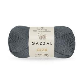 Пряжа Gazzal Giza  - 2455 серый, Цвет: 2455 серый