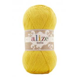 Пряжа Alize Bella 100 - 488 желтый, Цвет: 488