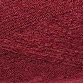Пряжа Color-city Ангора кролик серебристый - 2227 бордовый, Цвет: 2227 бордовый