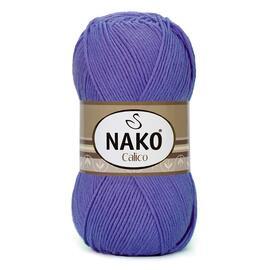 Пряжа Nako Calico - 10287 фиолетовый, Цвет: 10287 фиолетовый