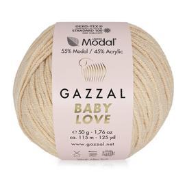 Пряжа Gazzal Baby Love-GZ - 1630 бл.персик, Цвет: 1630