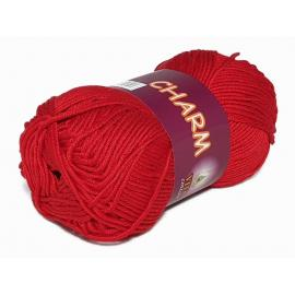 Пряжа Vita Cotton Charm - 4504 красный, Цвет: 4504 красный