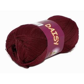 Пряжа Vita Cotton Daisy - 4431 винный, Цвет: 4431 винный