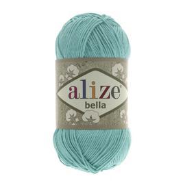 Пряжа Alize Bella 100 - 477 бирюзовый, Цвет: 477