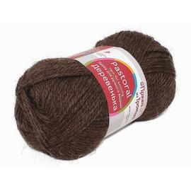 Пряжа Троицкая Деревенька - 251 коричневый, Цвет: 251 коричневый