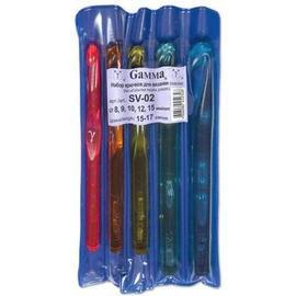 Крючки пластиковые цветные, серия SV набор крючков пластик d 8-15 мм 15 - 17 см 5 шт SV-02