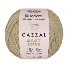 Пряжа Gazzal Baby Love-GZ - 1637 песок, Цвет: 1637