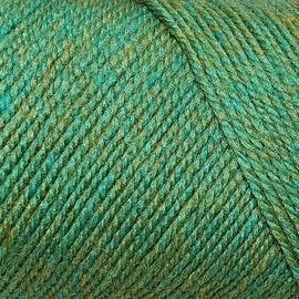 Пряжа Color-City Yak Wool (Як Вул) - 9001 зеленый меланж, Цвет: 9001 зеленый меланж