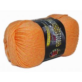 Пряжа Color-City Венецианская осень - 9018 оранжевый меланж, Цвет: 9018 оранжевый меланж