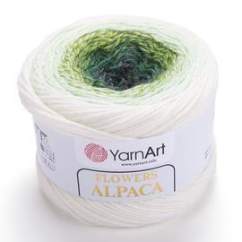 Пряжа YarnArt Flowers Alpaca - 401 принт, Цвет: 401 принт