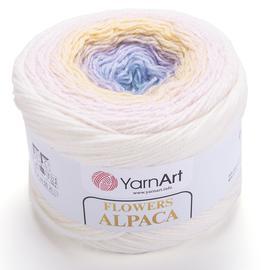 Пряжа YarnArt Flowers Alpaca - 402 принт, Цвет: 402 принт