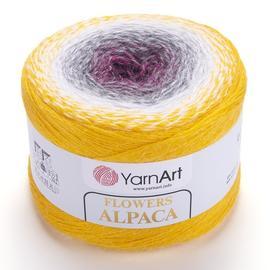 Пряжа YarnArt Flowers Alpaca - 403 принт, Цвет: 403 принт