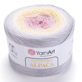Пряжа YarnArt Flowers Alpaca - 404 принт, Цвет: 404 принт