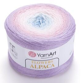 Пряжа YarnArt Flowers Alpaca - 405 принт, Цвет: 405 принт