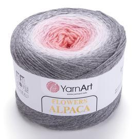 Пряжа YarnArt Flowers Alpaca - 406 принт, Цвет: 406 принт