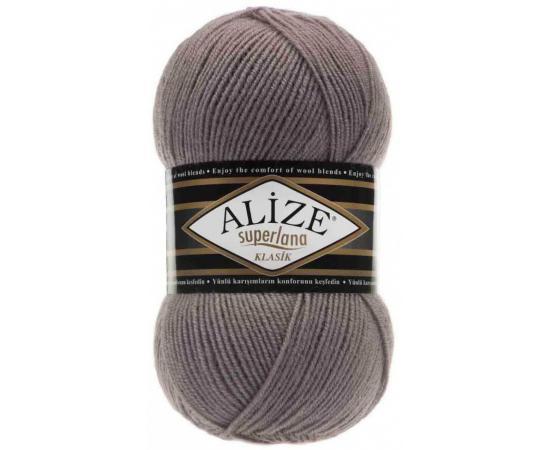 Пряжа ALIZE SUPERLANA KLASIK 142 п.сирень, Цвет: 142 п.сирень