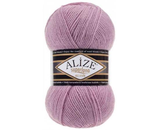 Пряжа ALIZE SUPERLANA KLASIK 295 розовый, Цвет: 295 розовый