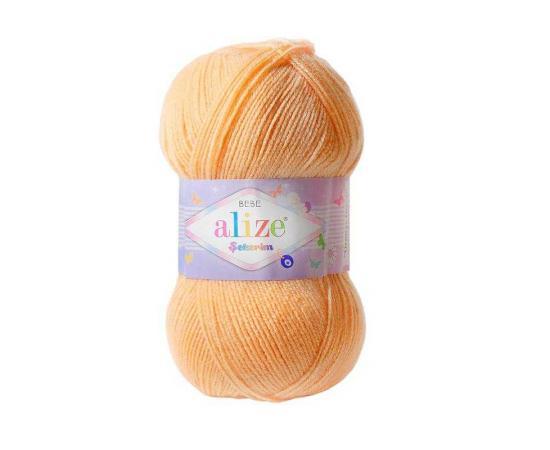Пряжа ALIZE SEKERIM BEBE 282 персик, Цвет: 282 персик