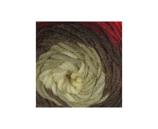 Пряжа ALIZE SUPERLANA MAXI LONG BATIK 6772 коричневый, Цвет: 6772 коричневый, изображение 3