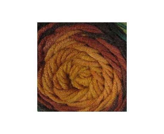 Пряжа ALIZE SUPERLANA MAXI LONG BATIK 6775 вишня/зелень, Цвет: 6775 вишня/зелень, изображение 3