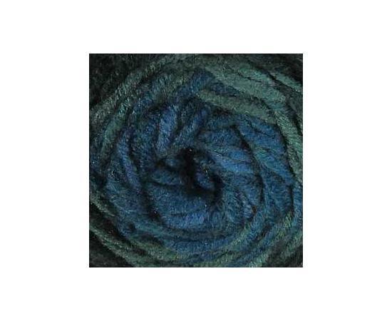 Пряжа ALIZE SUPERLANA MAXI LONG BATIK 6777 голуб/зелень, Цвет: 6777 голуб/зелень, изображение 3