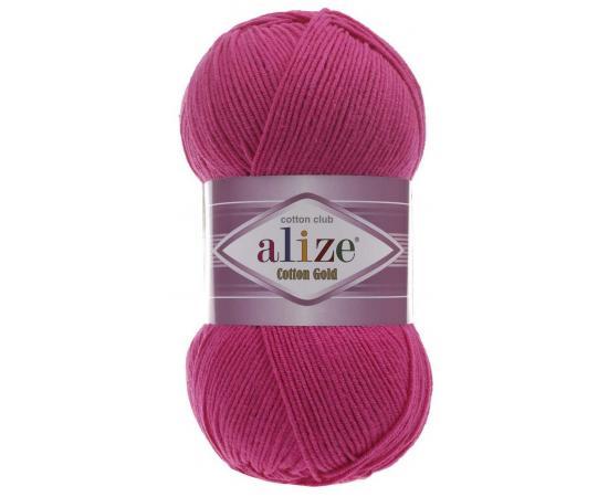 Пряжа ALIZE COTTON GOLD 149 малиновый, Цвет: 149 малиновый