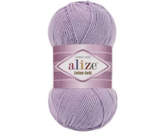 Пряжа ALIZE COTTON GOLD 166 лиловый, Цвет: 166 лиловый